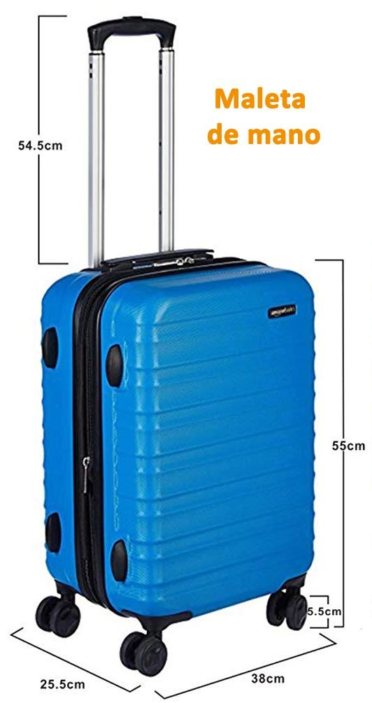 es suficiente Grabar sombra  ▷ Medidas del equipaje de mano y de maletas facturadas de las aerolíneas